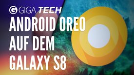 Android Oreo auf dem Samsung Galaxy S...