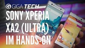 Sony Xperia XA2 & XA2 Ultra im Ha...