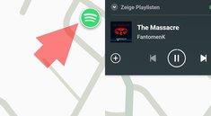 Spotify & Waze: Navigation und Musik auf einem Blick