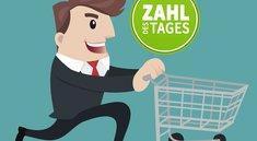 Deutschlands beliebteste Shopping-Apps für Android – Zahl des Tages
