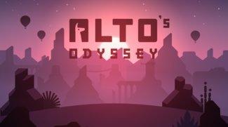 Top iOS-Spiel Alto's Odyssey: Von der Schneepiste in die Wüste
