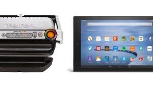 Angebote bei Amazon: Fire HD Tablet, DVD-Laufwerk, Tefal-Grill und mehr