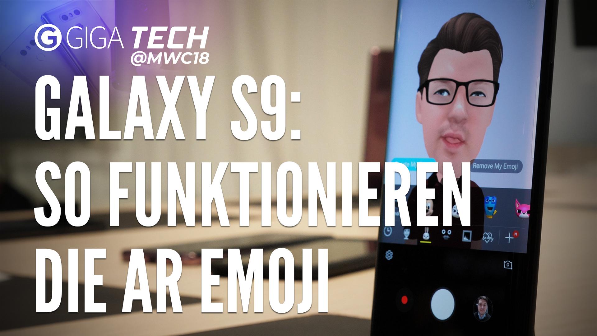 Samsung Galaxy S9 (Plus): So funktionieren die AR Emojis