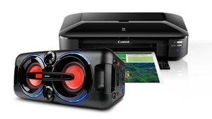 Angebote von Amazon: 4K Fernseher, Party-Soundsystem, Canon DIN A3+ Drucker