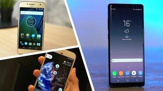 Galaxy Note 8, Moto G5 Plus und Co.: Diese 15 Smartphones strahlen am wenigsten