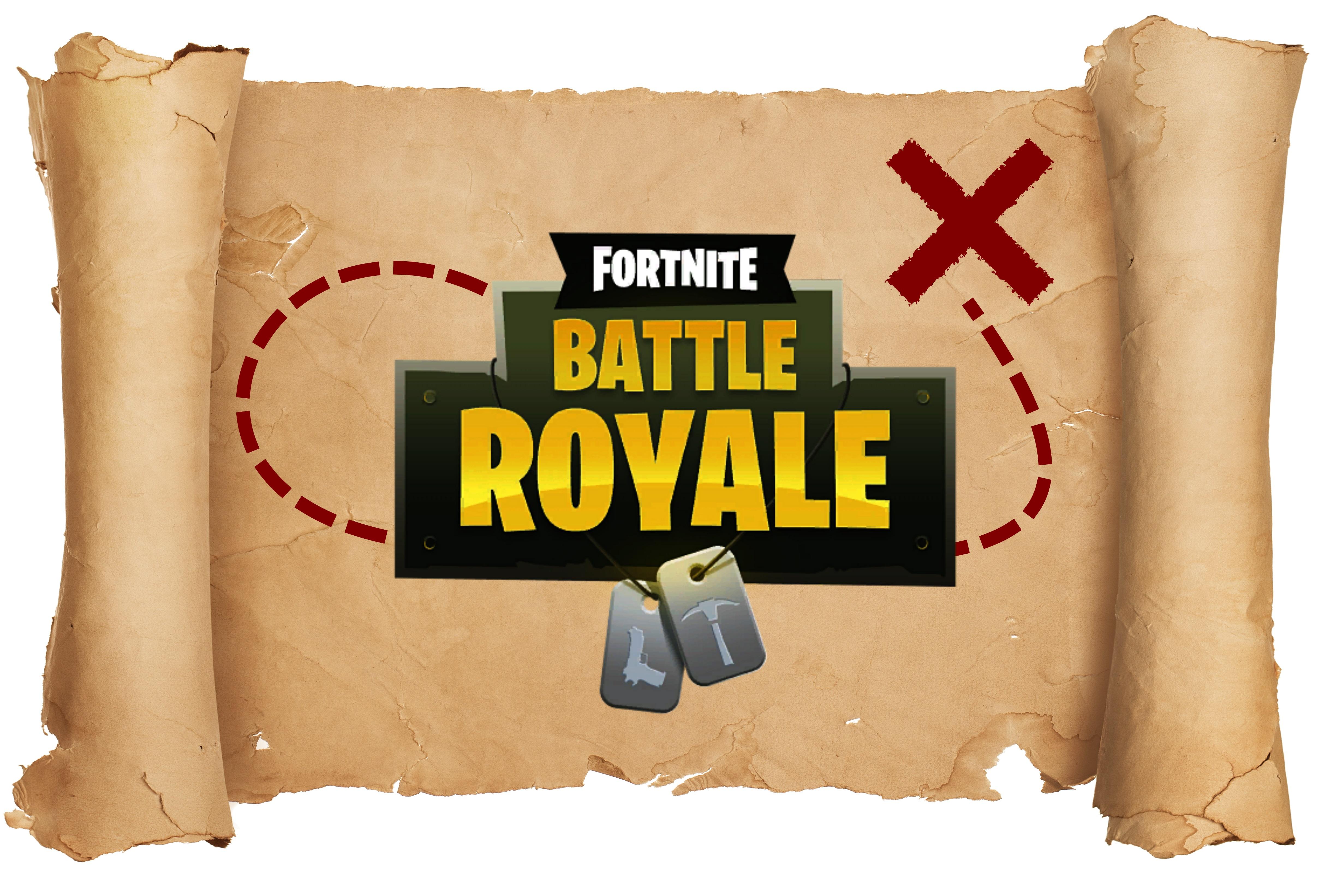 Fortnite Battle Royale Schatz Und Karte Von Dusty Depot Finden Giga