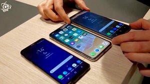 Samsung Galaxy S9 (Plus) und iPhone X im Video: Die Stärken der Top-Smartphones