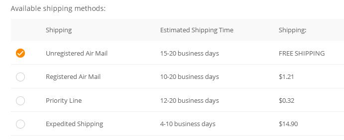 6594fcd226 Wie lange die Ware wirklich unterwegs ist, hängt auch von der gewählten  Versandart ab. Kostenloser Versand dauert in der Regel am längsten, ...
