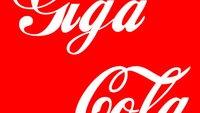 Coca-Cola-Schriftart als TrueType-Font