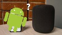 Apple HomePod mit einem Android-Gerät verwenden – geht das?