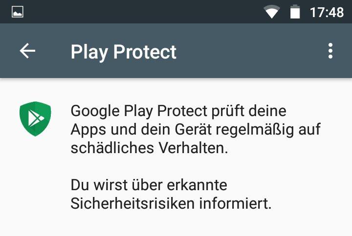Was ist Google Play Protect? Einfach erklärt