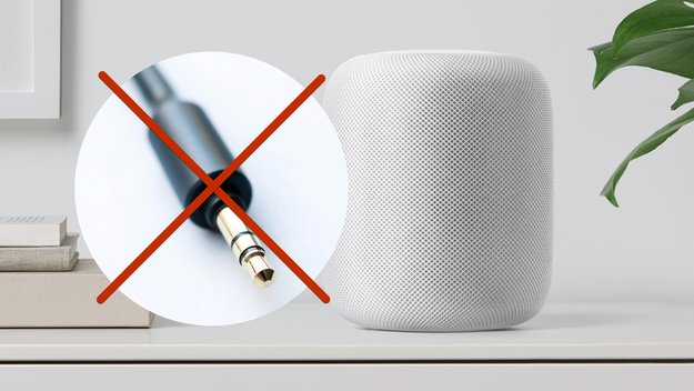 Apples HomePod: Der Lautsprecher (fast) ohne Audio-Anschluss