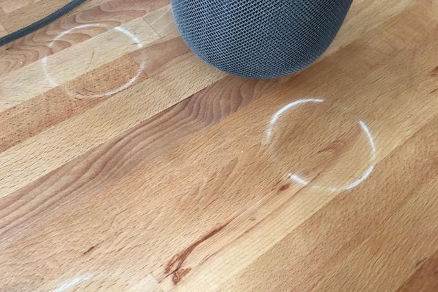 Apple: HomePod kann weiße Ringe auf Holzmöbeln hinterlassen