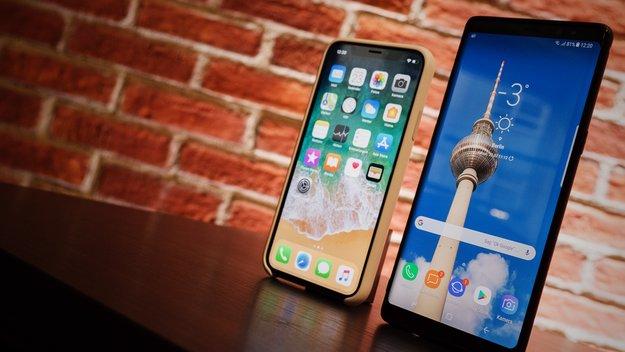 iPhone X vs. Samsung Galaxy Note 8: Langzeit-Test und Vergleich nach 4 Monaten