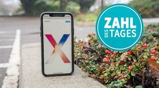 Samsung in Not: Apple senkt Bestellungen für das iPhone X – Zahl des Tages