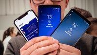 Samsung Galaxy S9 und iPhone X im Vergleich