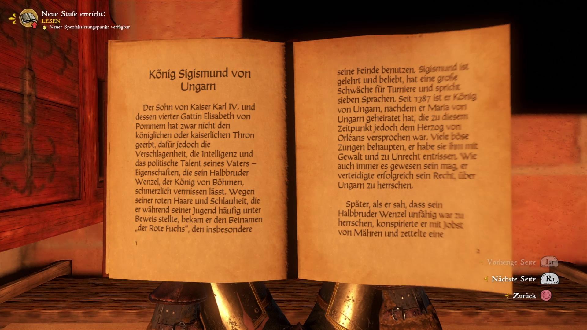 Kingdom Come Deliverance Fertigkeiten Bücher Fundorte Im