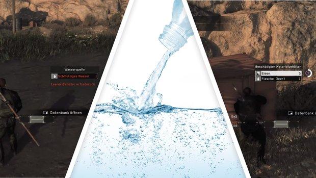 Metal Gear Survive: Wasser kochen und Durst stillen - so geht's