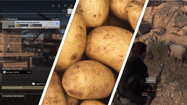 Metal Gear Survive: Nahrung kochen und schneller Hunger überwinden
