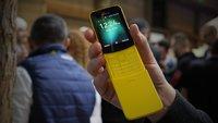 """Nokia 8110 4G im Hands-On-Video: """"Mr. Anderson, ihre Banane aus Matrix ist zurück"""""""