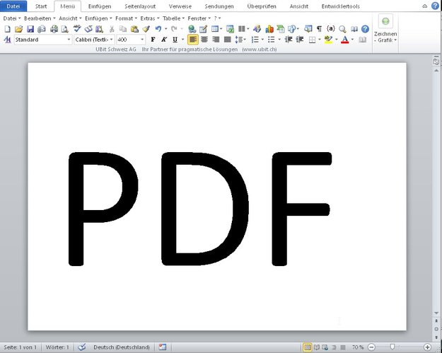 PDF in Querformat drehen und speichern – so geht's