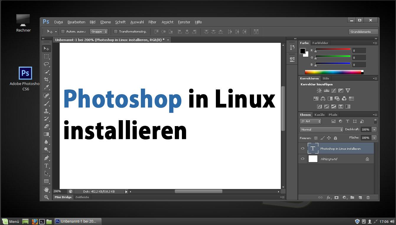 Linux: Photoshop installieren – so geht\'s – GIGA