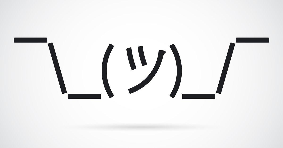 Japanische Smileys Zeichen