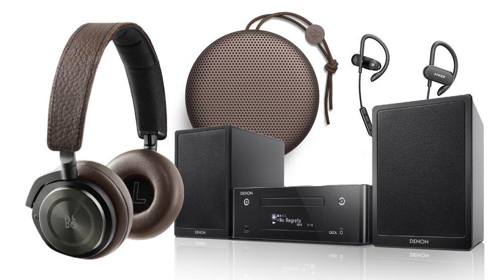 Top Audio-Zubehör: Bang & Olufsen, Denon und Anker in den Amazon-Angeboten