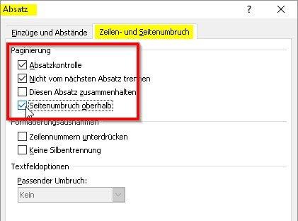 word-ueberschriften-absatzkontrolle