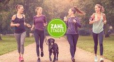 Deutschlands beliebteste Fitness-Apps – Zahl des Tages