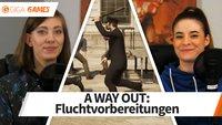 A Way Out im Let's Play: Wir bereiten uns auf die Flucht vor