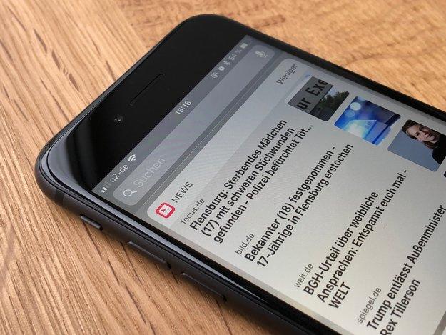 Apple News Widget in iOS: Die Themenauswahl lässt noch immer zu wünschen übrig