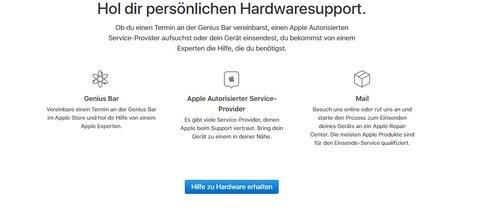 sports shoes 372e7 0154c Genius Bar: Termin im Apple Store vereinbaren – hier geht's ...