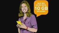 Congstar verschenkt 10 GB Datenvolumen – allerdings mit Einschränkungen