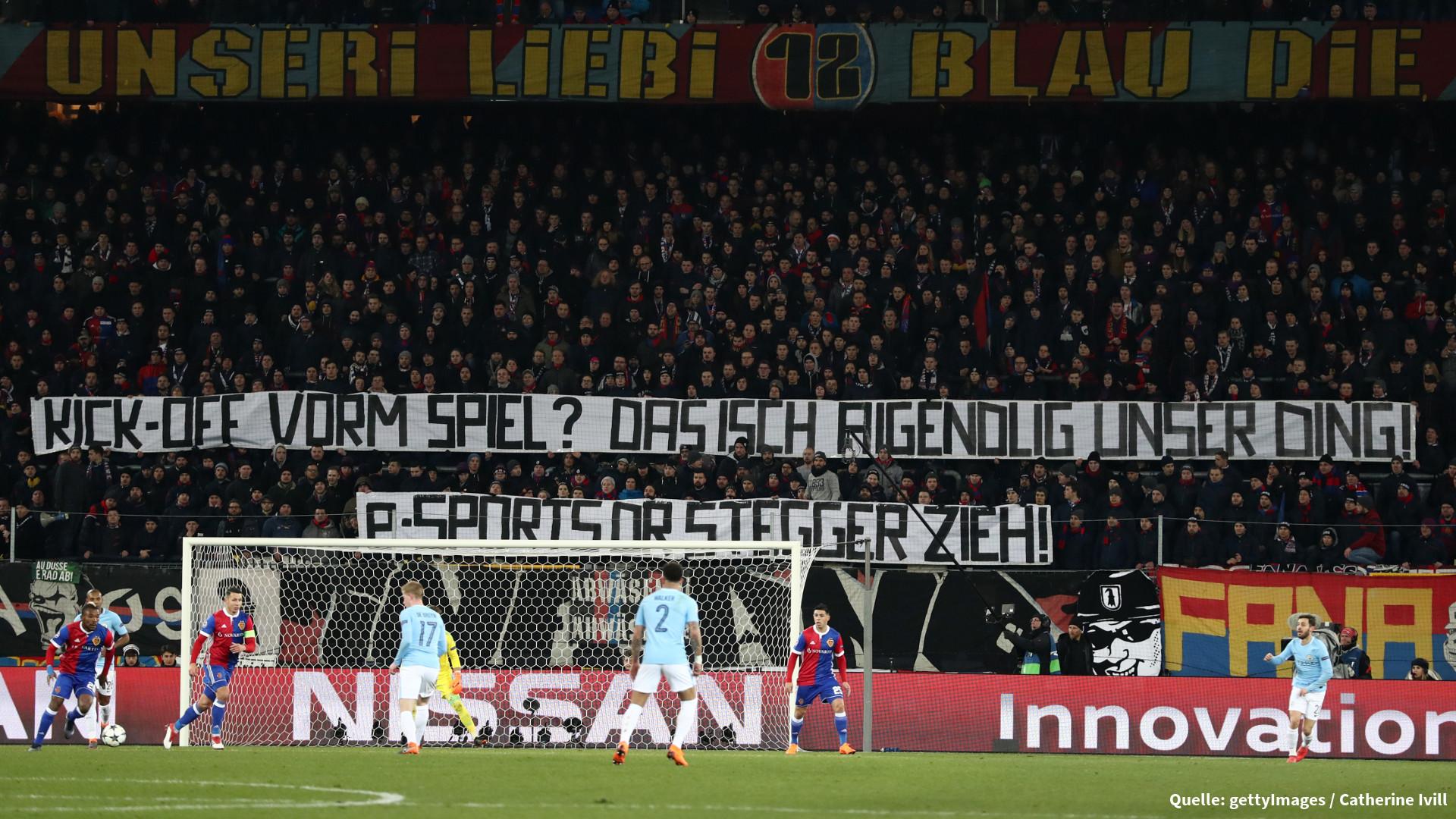 Protest Gegen E Sport Fussball Fans Sorgen Wohl Fur