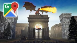 Dank Google Maps wird die ganze Welt zum Videospiel