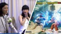Ehepaar zockt Street Fighter & Co. auf seiner eigenen Hochzeit