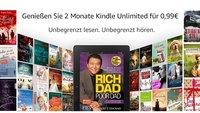 Amazon: 2 Monate Kindle Unlimited für 0,99 € – Zugriff auf über 1 Mio. eBooks