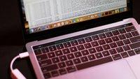 MacBook Pro in Gefahr: Sicherheitslücken erlauben Zugriff auf Touch Bar