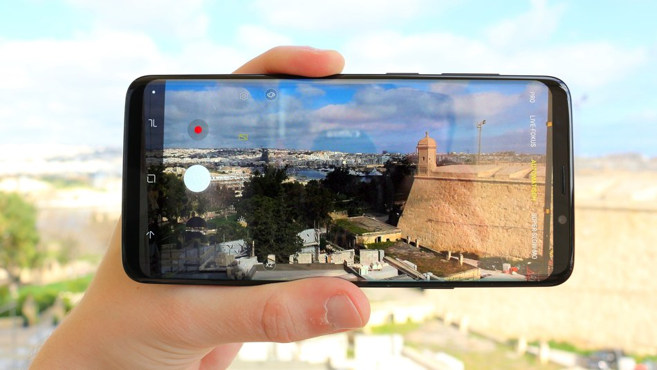 kamera test samsung s9 plus