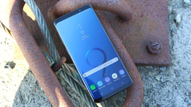 Samsung Galaxy S9 (Plus): Android 9 gives the phone a surprising feature