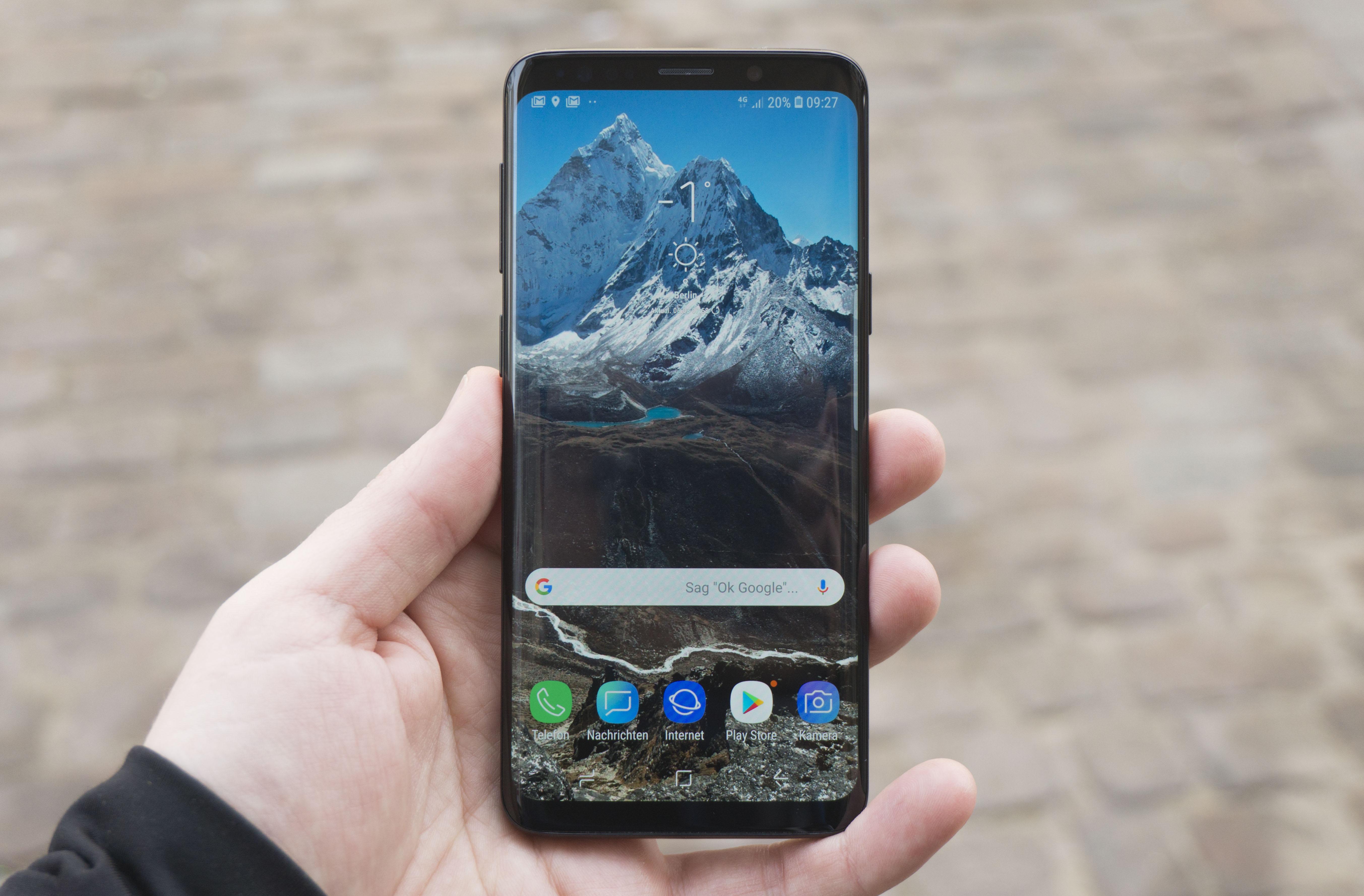 Samsung galaxy s9 teszt