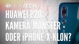 Huawei P20, Pro und Lite: Kamera-Mons...