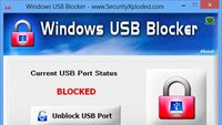 Windows USB Blocker