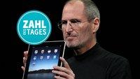 Steve Jobs hatte Recht – Zahl des Tages