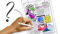5 Fragen an Apple: Lass uns über den Pencil und das neue iPad reden
