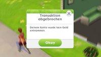 Die Sims Mobile geht nicht: Fehler und Probleme beheben