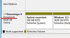 Was ist ein Dynamischer Datenträger? Unterschied zum Basisdatenträger?