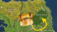 Fortnite - Battle Royale: Truhen bei Wailing Woods - Fundorte und Tipps