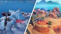 Fortnite: Zielscheiben finden - Fundorte zum Landen (Season 10)